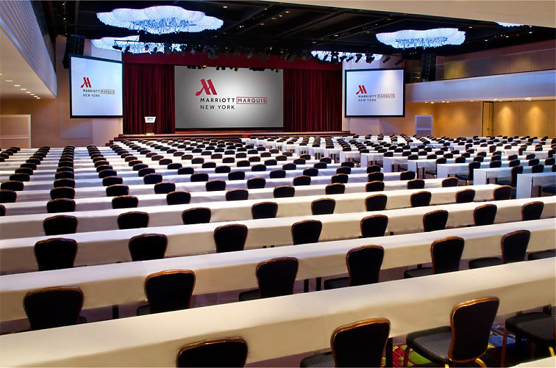 Conference Rooms Marriott Marquis Map